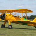 Stearman taxiing in