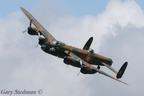 BBMF Lancaster on the bank at Rougham #1