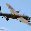BBMF Lancaster on the bank at Rougham #3