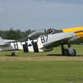 OFMC P-51 taxying out.