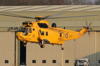 SAR Sea King recovering #2