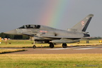 Typhoon with a rainbow!