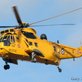 SAR Seaking arriving at Marham.