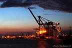 Felixstowe container port.