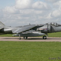 Harrier GR9 taxiing out.