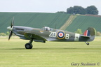 Spitfire take off roll #1