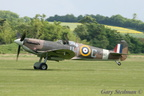Spitfire take off roll #3