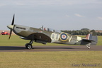 Grace Spitfire taxiing in