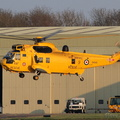 SAR Sea King recovering #1