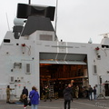 HMS Dauntless flight deck and hangar.