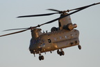 Chinook leaving Wattisham #2